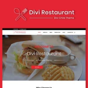 Szablon Wordpress Divi dla restauracji