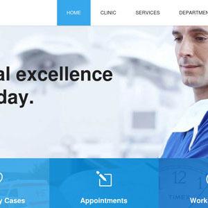 Szablon Wordpress medyczny
