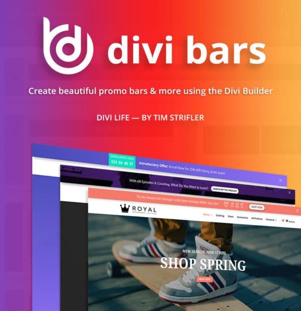 Wordpress Divi Bar