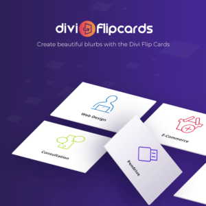 Moduł Divi Flip Card