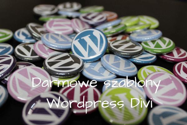 Darmowe szablony WordPress Divi