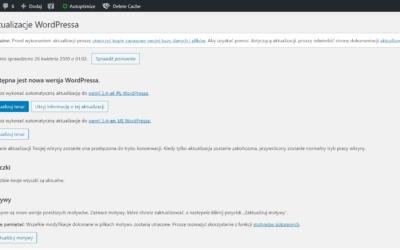 Jak bezpiecznie zaktualizować WordPressa, Divi i wtyczki